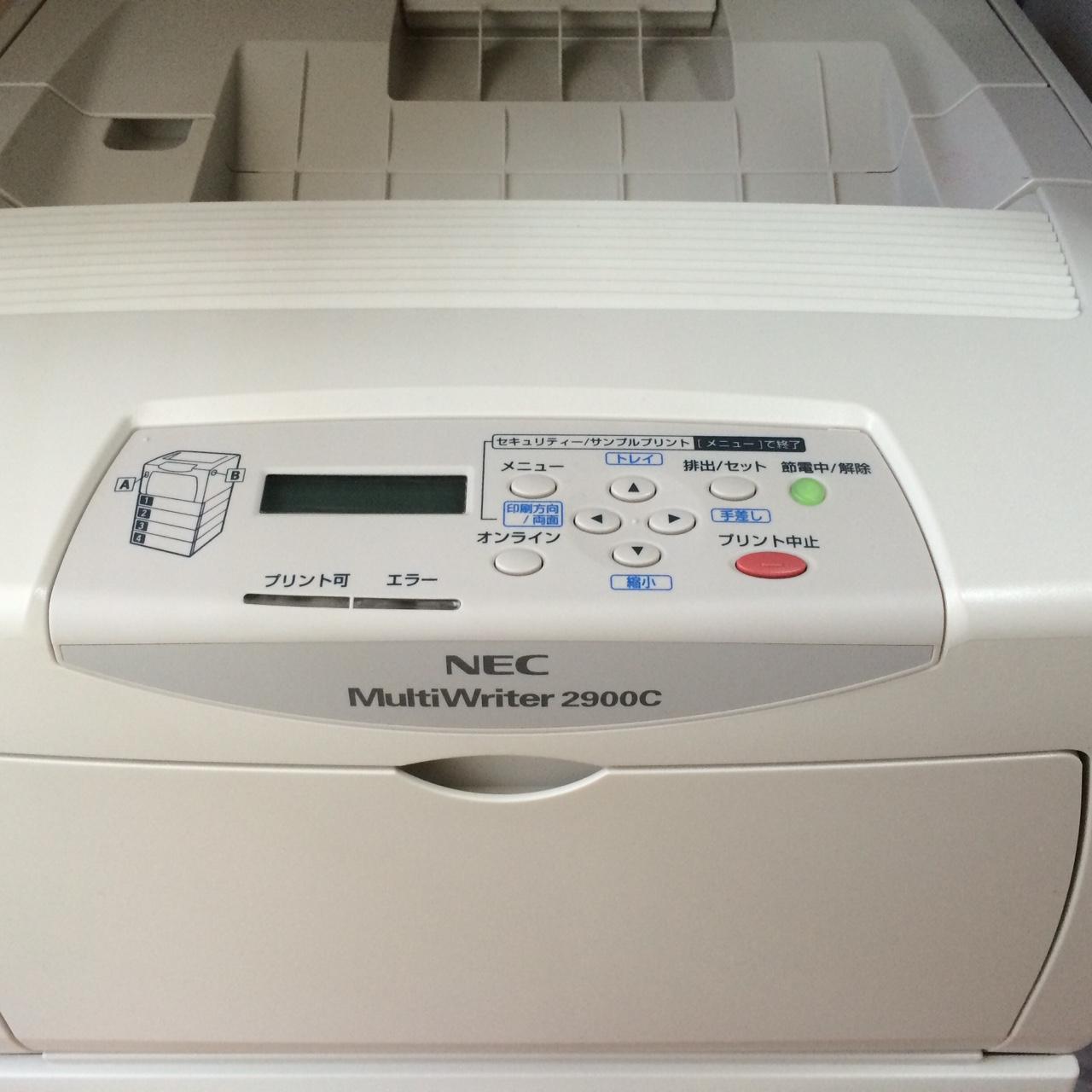 三代目NEC 2900C_b0199365_12553679.jpg