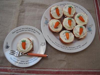 Carrot Cupcakeを焼く_f0238789_17572725.jpg