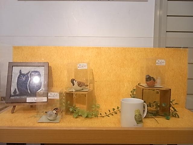 東急ハンズ江坂店「インコとどうぶつ展」全体の様子_d0322493_303357.jpg
