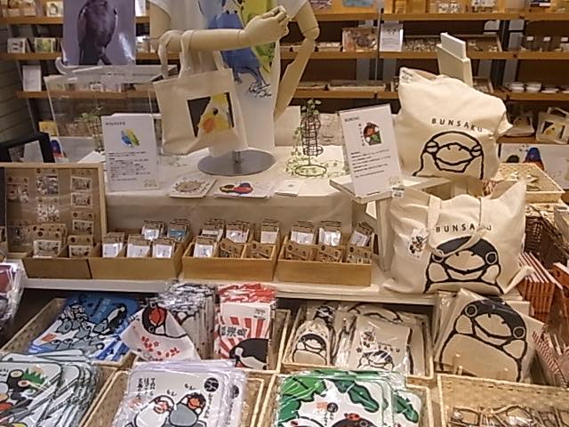 東急ハンズ江坂店「インコとどうぶつ展」全体の様子_d0322493_36297.jpg
