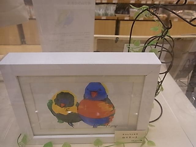 東急ハンズ江坂店「インコとどうぶつ展」全体の様子_d0322493_37555.jpg