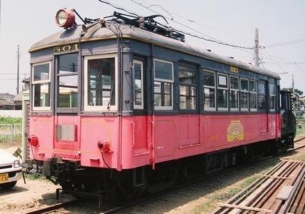 銚子電気鉄道 デハ501_e0030537_21320975.jpg