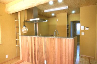 ステンレスメタル キッチン 半島型 KK sk邸 知立市_f0222049_17345367.jpg