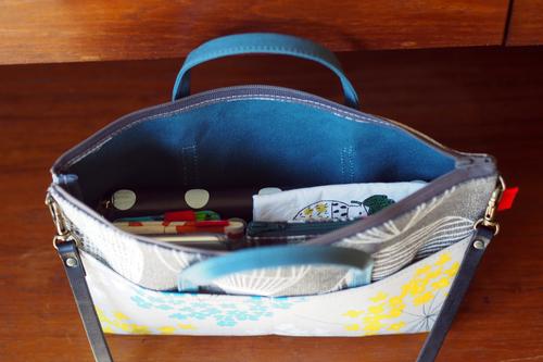 新しいbag in bag with shoulder できました_e0243765_1949293.jpg