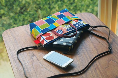 新しいbag in bag with shoulder できました_e0243765_19555694.jpg