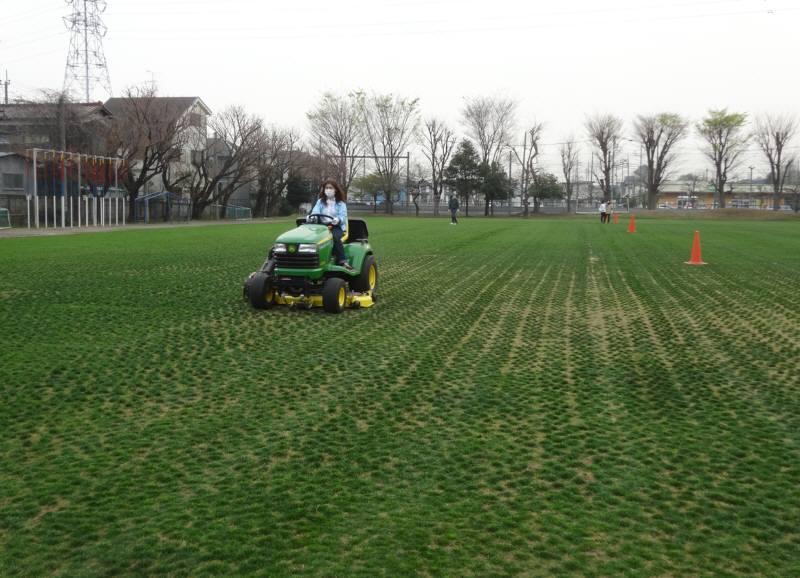 今年最初の芝刈り_f0059673_2293877.jpg