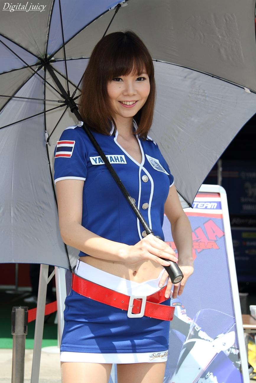 市川夏帆 さん(Yamaha Thailand Racing Team レースクイーン)_c0216181_23191282.jpg