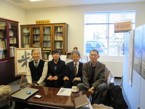 2015年度 吾妻祭実行委員長 伊藤 秀一君が来訪_c0075701_17303260.jpg