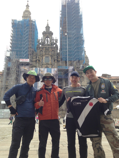 El Camino de Santiago !!【ケイタブラジルEspaña/Portugal Tour2015】→_b0032617_2304348.jpg