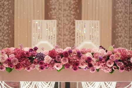 春の装花 バラの装花 パレスホテル立川様、 ローズルームへ_a0042928_2237465.jpg