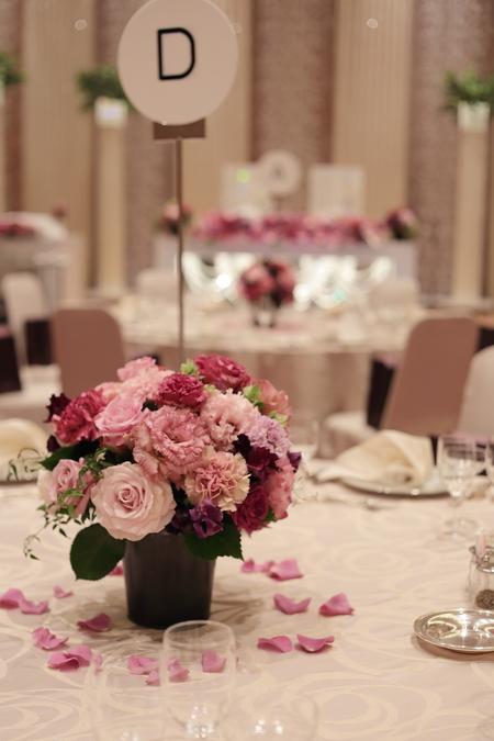 春の装花 バラの装花 パレスホテル立川様、 ローズルームへ_a0042928_22415350.jpg