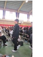 下の子供の入学式でした_a0298652_1901435.jpg