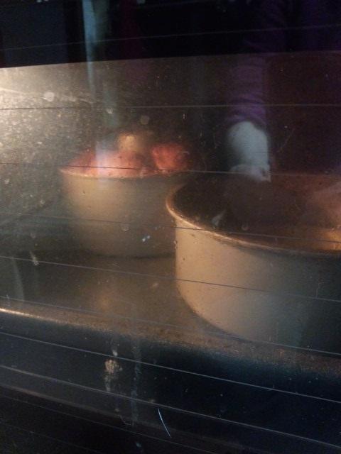 バナナシフォンケーキ、、、焼いたけど、、、_b0019674_2320331.jpg