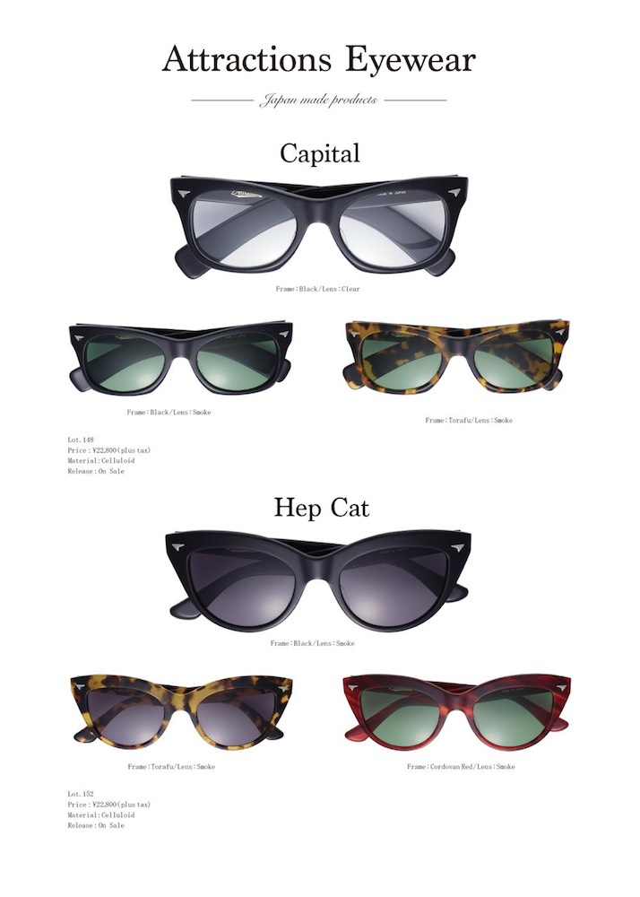 【Attractions】Eyewear Restock_c0289919_1564582.jpg