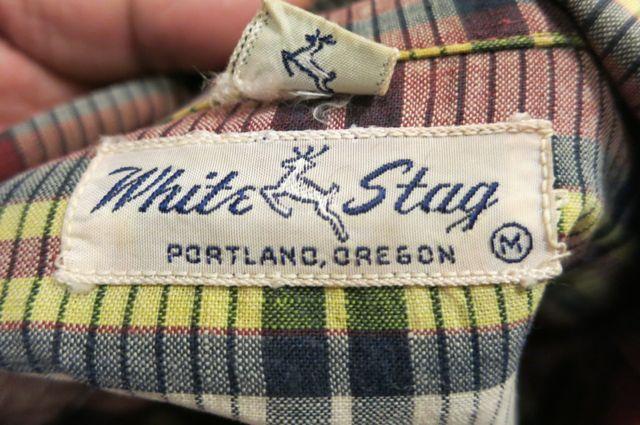 アメリカ仕入れ情報#23 50'S WHITE STAG シャツ!_c0144020_10105237.jpg