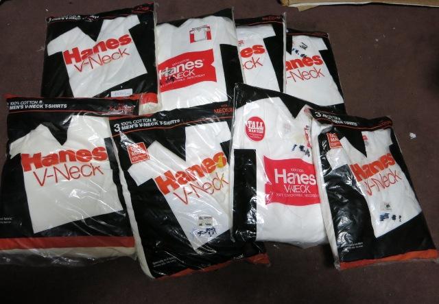 アメリカ仕入れ情報#29 デッドストック HANES V、クルーネック 3P Tシャツ! _c0144020_1057438.jpg