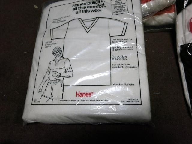 アメリカ仕入れ情報#29 デッドストック HANES V、クルーネック 3P Tシャツ! _c0144020_1059528.jpg