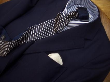 ネイビージャケット・・・ホップサックはカジュアルまで使える_d0060944_172327.jpg