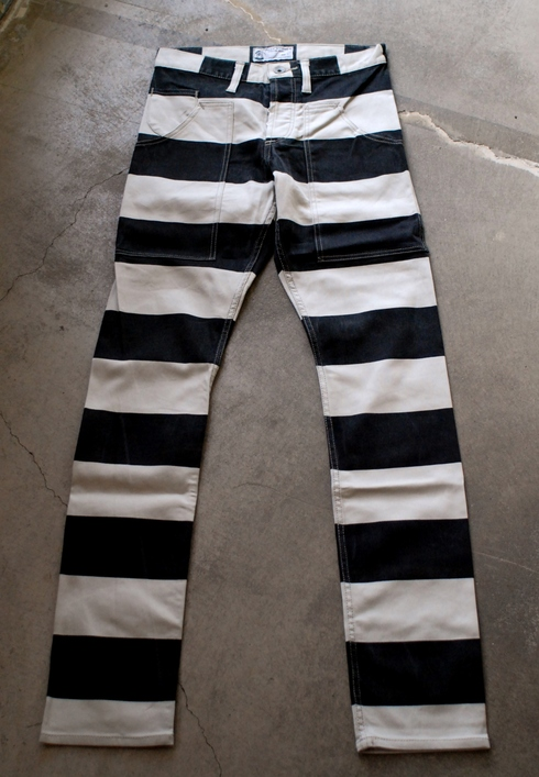 再入荷しました! PRISONER stretch slim pants_e0254972_6534421.jpg