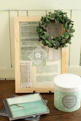 Mini wreath & Collage ♪_d0167088_16312926.jpg