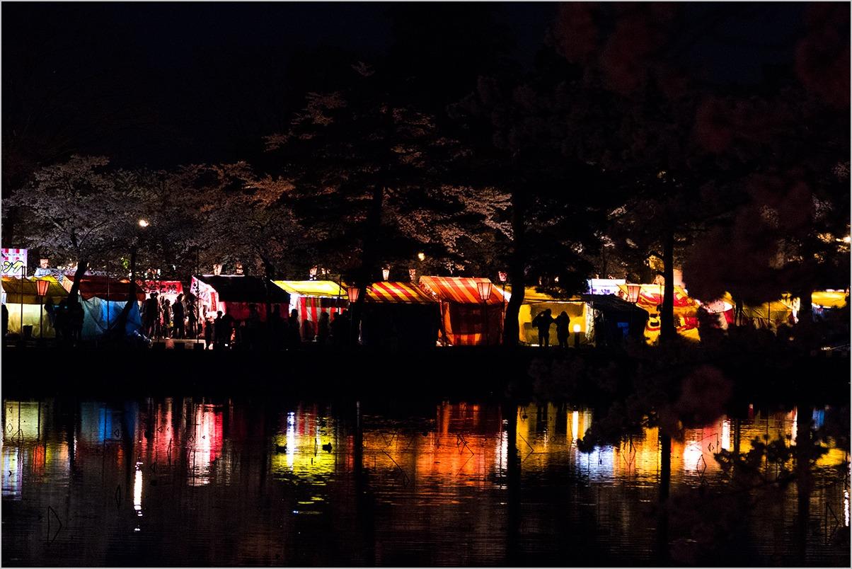 田舎モンが高田の夜桜見物 a night of cherry blossom #LEICA V-LUX_c0065410_2015974.jpg