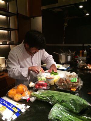 ミシュランシェフのお料理教室⭐️_c0151965_22154751.jpg