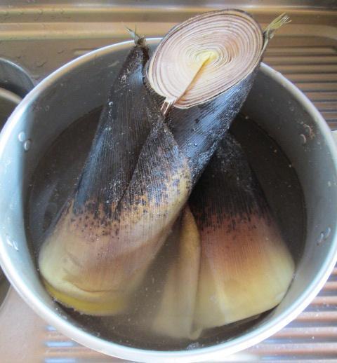 イエシゴトVol.114 生タケノコの保存と常備菜作り!_e0274872_11235670.jpg
