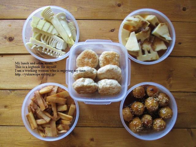 タケノコを丸ごとゆでて保存用と常備菜用に仕込む「YUKAさんのイエシゴト」