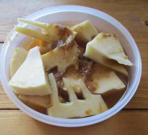 イエシゴトVol.114 生タケノコの保存と常備菜作り!_e0274872_11263551.jpg