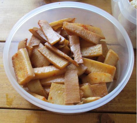 イエシゴトVol.114 生タケノコの保存と常備菜作り!_e0274872_11264010.jpg