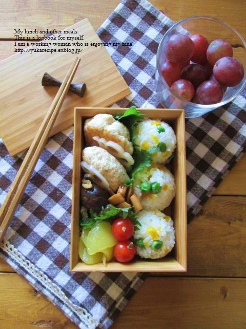 4.13 タケノコ入りつくねバーグのお弁当とお知らせ_e0274872_12365952.jpg