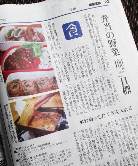 4.15 タケノコごはん・あんかけ弁当と野菜100g目標?_e0274872_22411846.jpg