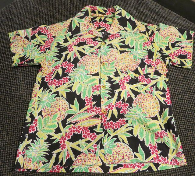 アメリカ仕入れ情報#34  40\'s 〜All Cotton  パイナップル柄 Hawaiian shirts !_c0144020_10391169.jpg