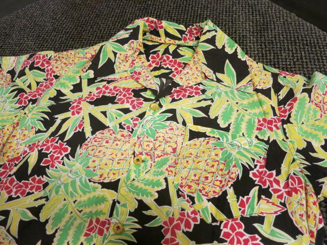 アメリカ仕入れ情報#34  40\'s 〜All Cotton  パイナップル柄 Hawaiian shirts !_c0144020_10391296.jpg