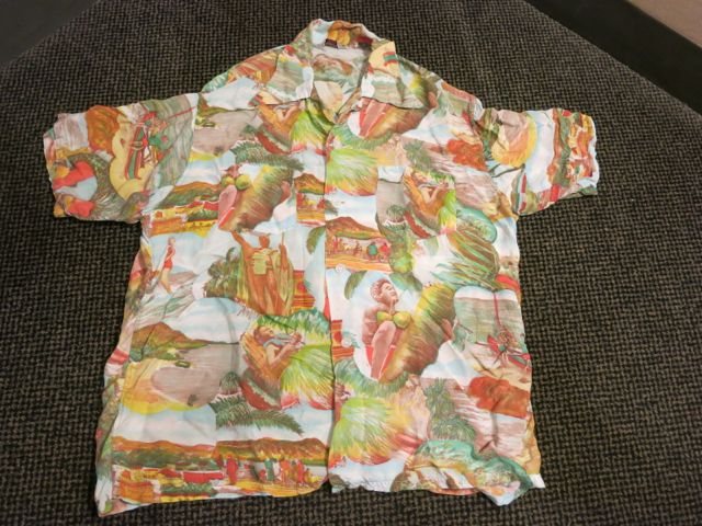 アメリカ仕入れ情報#37 40'S~ Picture pattern hawaiian shirts!_c0144020_1058236.jpg