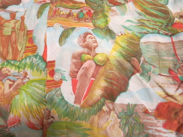 アメリカ仕入れ情報#37 40'S~ Picture pattern hawaiian shirts!_c0144020_1058852.jpg