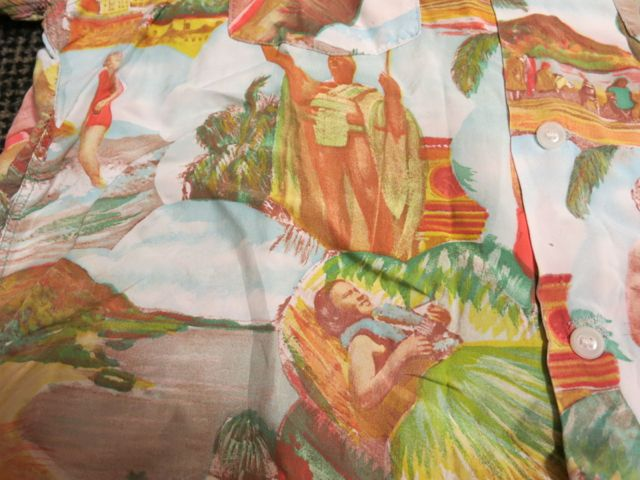アメリカ仕入れ情報#37 40'S~ Picture pattern hawaiian shirts!_c0144020_1058997.jpg