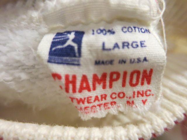アメリカ仕入れ情報#40 50'S チャンピオン ランナーズタグ 半袖スエット!_c0144020_11334554.jpg