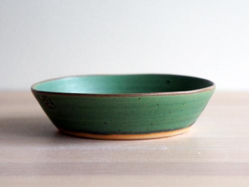 中尾さんの緑のお皿。_a0026127_1812306.jpg