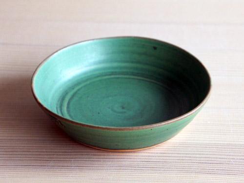 中尾さんの緑のお皿。_a0026127_18123791.jpg