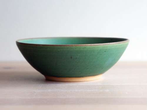 中尾さんの緑のお皿。_a0026127_18165559.jpg