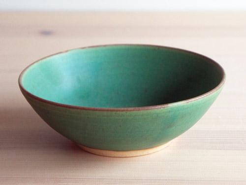 中尾さんの緑のお皿。_a0026127_1817225.jpg