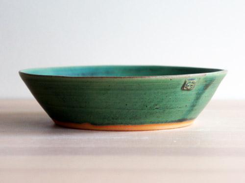 中尾さんの緑のお皿。_a0026127_18193247.jpg
