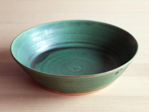 中尾さんの緑のお皿。_a0026127_18193838.jpg