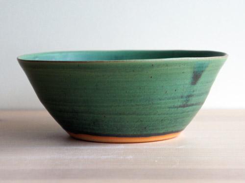 中尾さんの緑のお皿。_a0026127_18231427.jpg