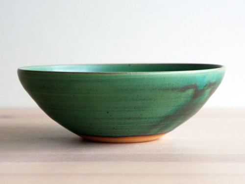中尾さんの緑のお皿。_a0026127_18254352.jpg