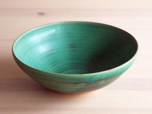 中尾さんの緑のお皿。_a0026127_18254853.jpg
