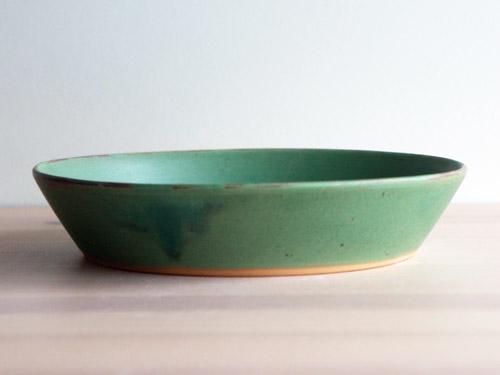 中尾さんの緑のお皿。_a0026127_18291420.jpg