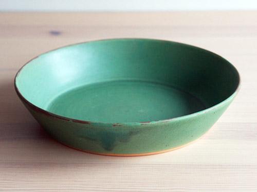 中尾さんの緑のお皿。_a0026127_18292118.jpg