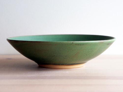 中尾さんの緑のお皿。_a0026127_18312518.jpg